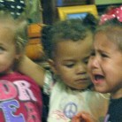 My great great nieces disagree over play