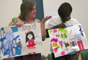 Teachers compare the special strengths of two students.