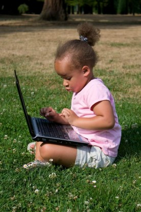 Girl w laptop