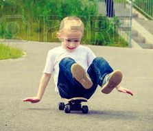 53733139-child-sitting-on-skateboard-outdoor-active-boy-skateboarding-on-pavement-sidewalk-kid-practicing-out